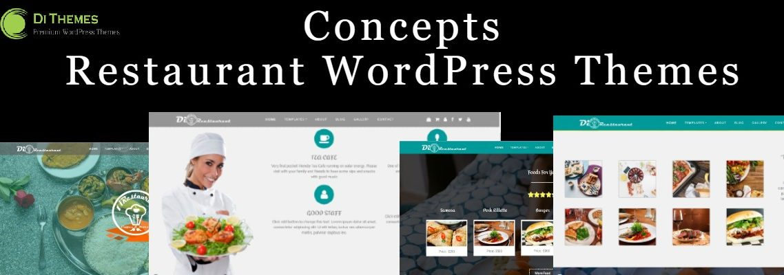 concept restaurant WordPress themes