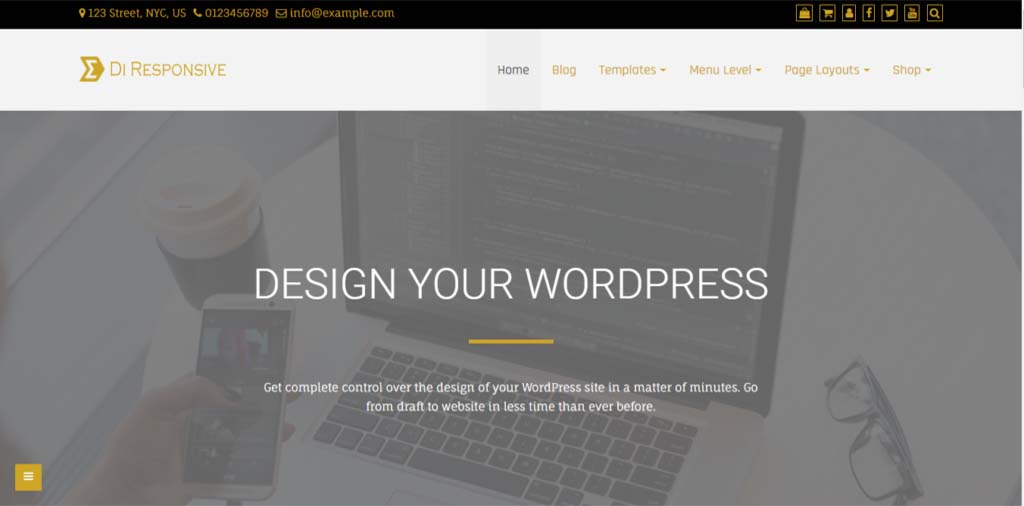 Di Responsive WordPress Theme