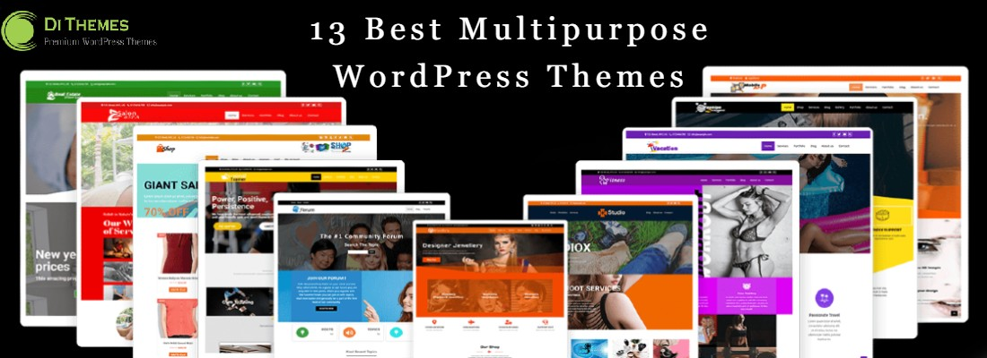 13 best multipurpose WordPress themes