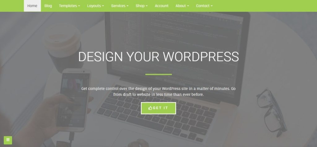 Di  business WordPress multipurpose theme