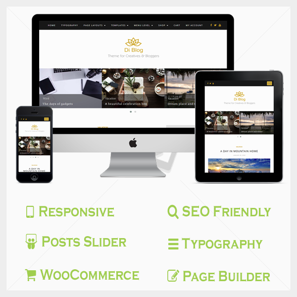 Blog Pro WordPress Theme