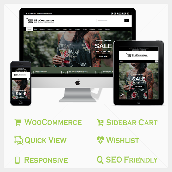 eCommerce Pro WordPress Theme