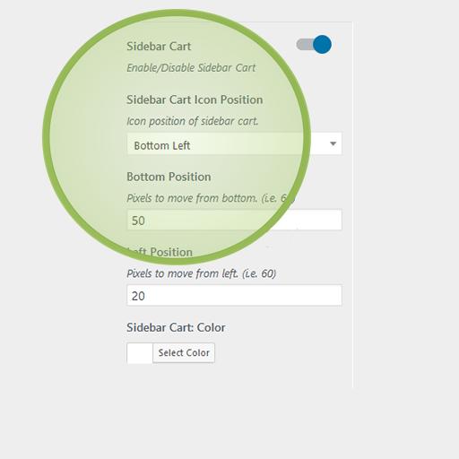 eCommerce Pro WordPress Theme Sidebar Cart