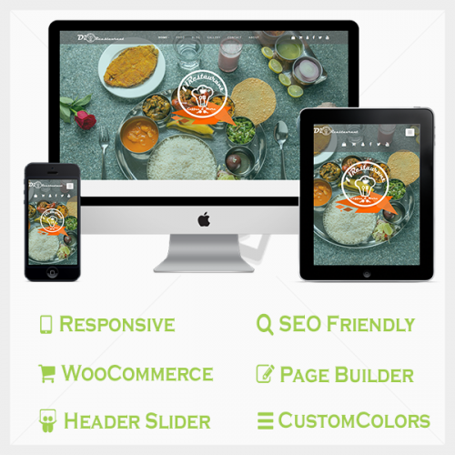 Restaurant Pro WordPress Theme