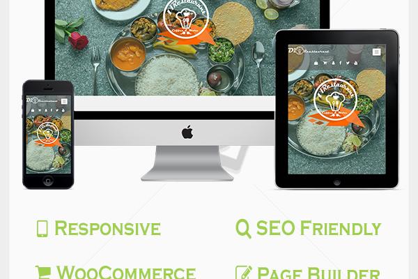 Restaurant Pro WordPress Theme