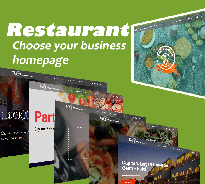 Restaurant WordPress Theme for restaurants, bistros, and food related websites.