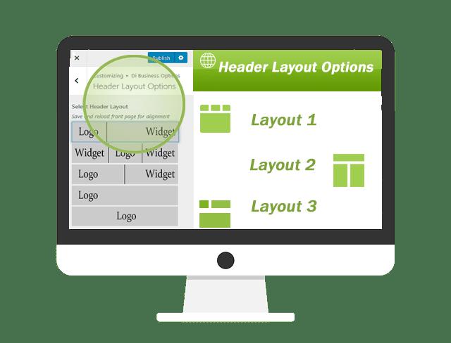 Business WordPress Theme headers