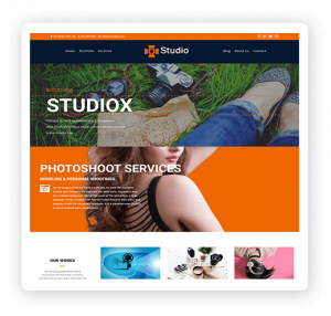 Studio multipurpose theme demo