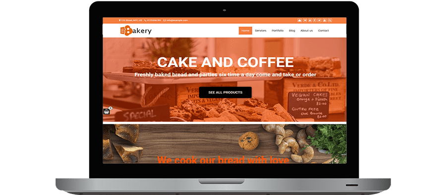Multipurpose Cake WordPress Themes