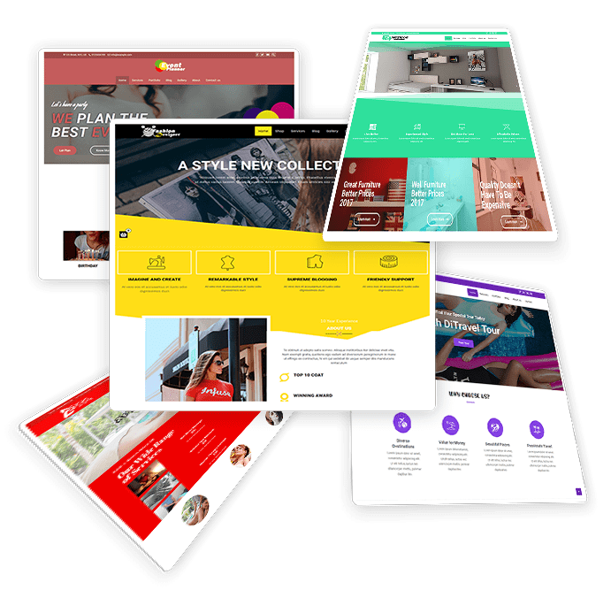 Get multipurpose WordPress theme