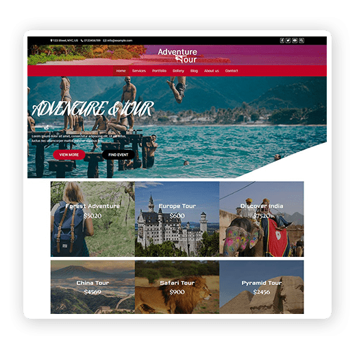 Responsive-Tour-Travel-Free-Theme