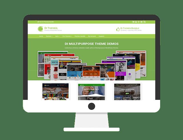 Multipurpose Theme Demos Sites