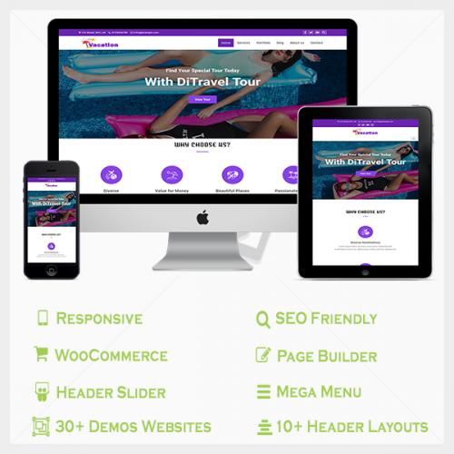 Multipurpose pro WordPress theme