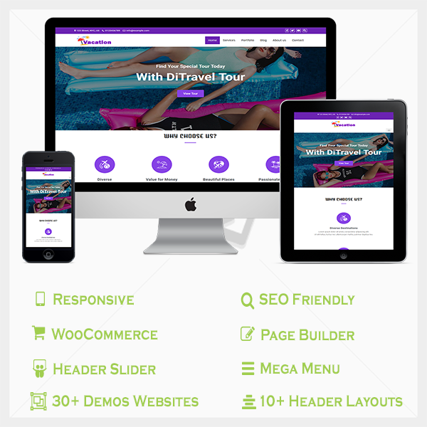 Multipurpose pro WordPress theme