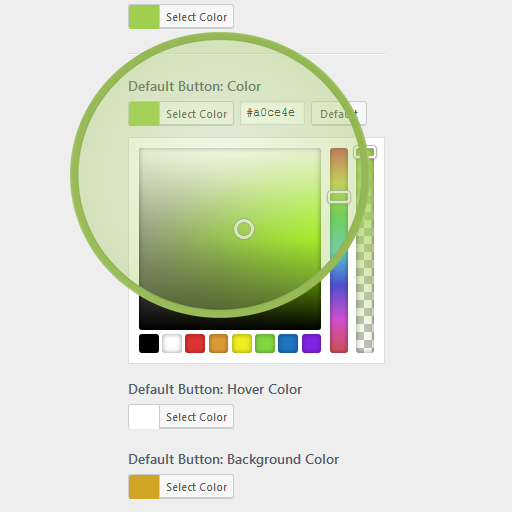Multipurpose theme colors