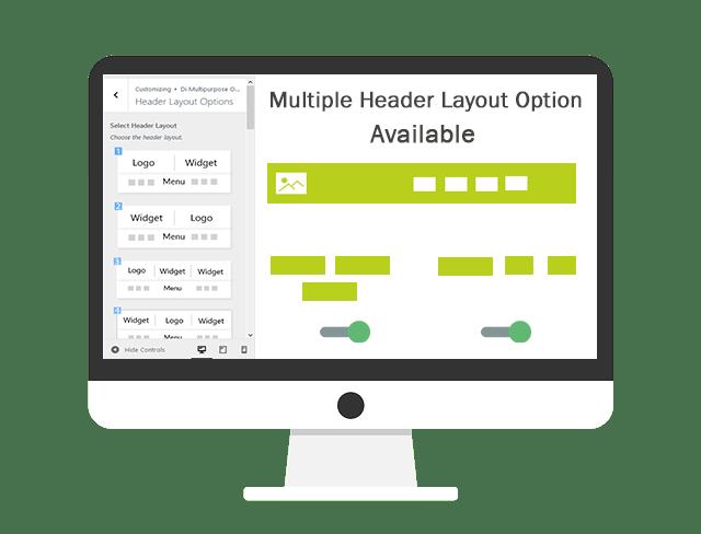 Header Layouts Multipurpose Theme