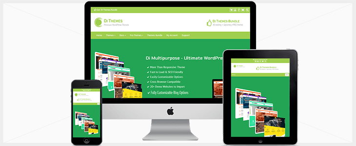 Multipurpose theme WordPress Business